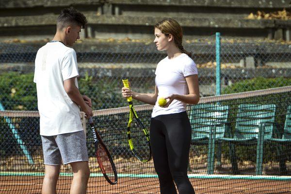 Szeged – 2020.09.26. Gellért Szabadidőközpont utánpótlás teniszezői. Képen:  Fotó: Karnok Csaba (KC) – Délmagyarország (DM)